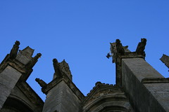 Larchant, basilique Saint-Mathurin (Gypsy Cob) Tags: france ruins ledefrance ruin ruine gargoyle gargoyles 77 iledefrance gargouille basilique ruines seineetmarne gargouilles larchant saintmathurin gtinaisfranais parcnaturelrgionaldugtinaisfranais