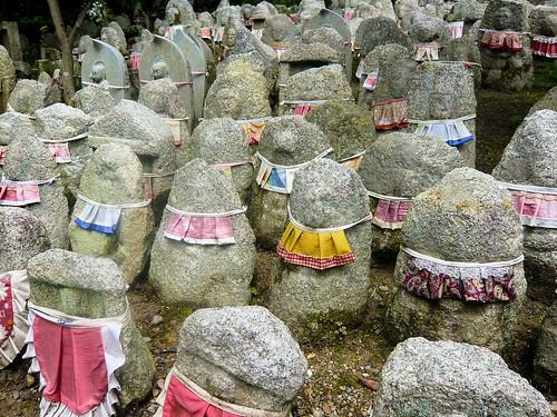 Jizo statues