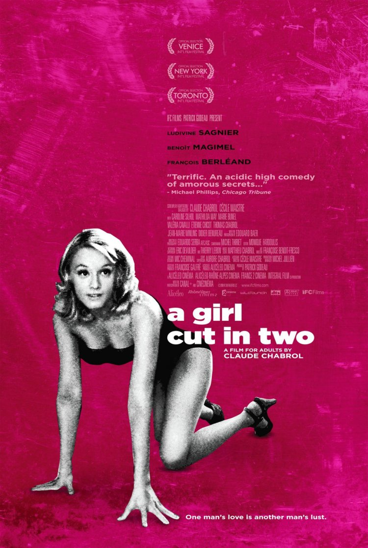 girl cut in two us poster