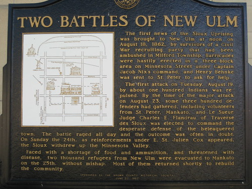 Two Battles of New Ulm