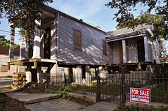 Uplifted 2 (Third This) Tags: architecture us louisiana neworleans historic oldhouse vernacular raised greekrevival shotgunhouse asymetrical gableandwing architecturenoahsurvye