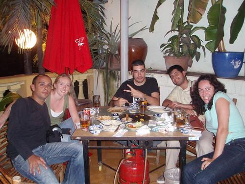 Jose Luis, Kathy, Alberto, Pau i Vero