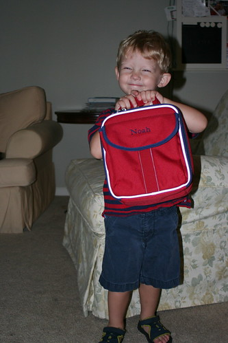 Noah's First Day of School