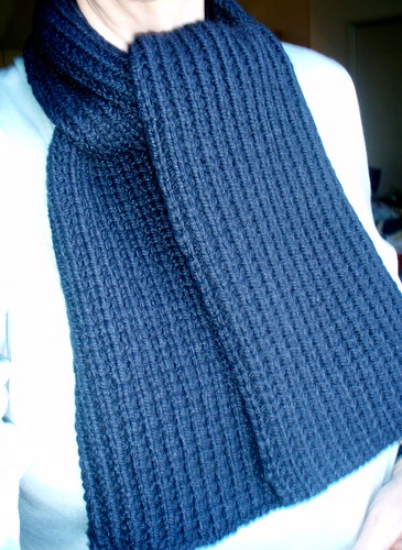 M's scarf