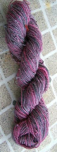 Roses in the Dark BFL Sock yarn