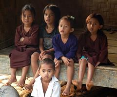 badui kids (Tempo Dulu) Tags: kids indonesia java westjava baduy badui banten