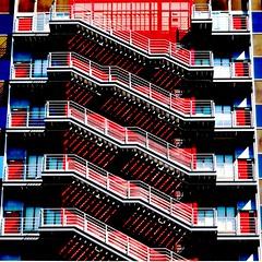 Madrid Agustn de Fox Escalera 1 0062 (javier1949) Tags: madrid stairs rojo escalera 1001nights escaleras embrujo peldaos 25faves colourartaward lacedenademadrid