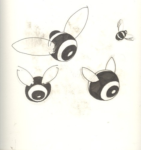08/09 - Bees' Bums