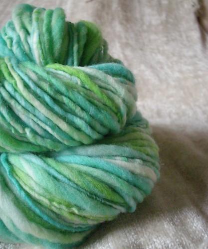 kim - handspun yarn