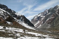 A Really Nice View of El Morado (Eg0n) Tags: chile trekking cajondelmaipo elmorado