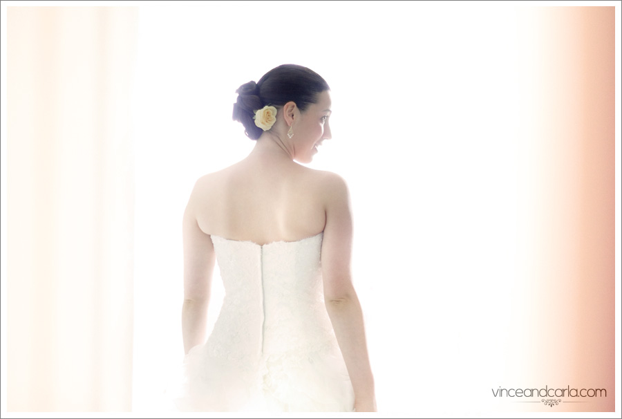 High Key wedding bride yellow rose gown highkey silhouette sylmar manor hotel celibrity center scientology spanish spain greek greece