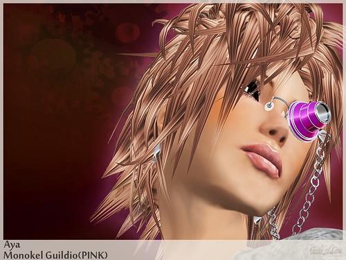 """""""Monokel-Guildio(Pink)"""" Image POP"""