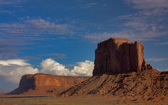 Wile E. Coyote's Lookout (buddhafinger) Tags: arizona nature america landscape utah desert geology monumentvalley americanwest canonef24105mmf4lisusm iconicimage