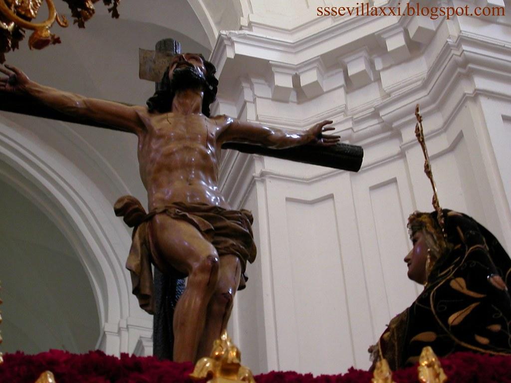 Cristo de las Misericordias y Nuestra Señora de la Antigua.