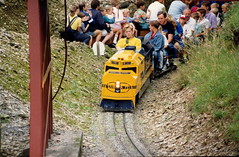 Dobwalls Forest Railroad (Aug 1990) (trainsandstuff) Tags: train cornwall railway miniaturerailway dobwalls forestrailway severnlamb forestrailroadpark forestrailroad dobwallsforestrailroad dobwallsforestrailway forestrailwayforest railroadcornwallsteamrailwaytrainminiature dobwallsadventurepark
