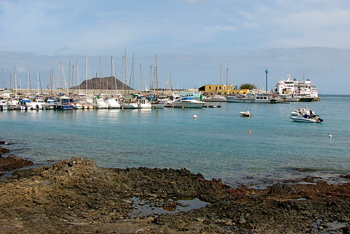Corralejo Harbour