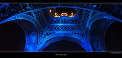 Sous la Jupe (landscape photography - sebastien-mamy.fr) Tags: blue paris tower night tour eiffel bleu jupe nuit aplusphoto gettyimagesfranceq1