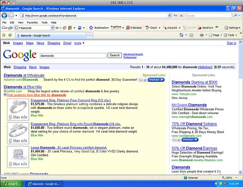 AdWords Products on 1024x768