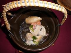 Matsutake (??) broth (dobin mushi ????), Yoshi...