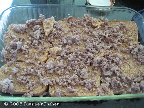Breakfast Casserole: Sausage