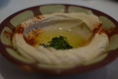 Hommus with Parsley