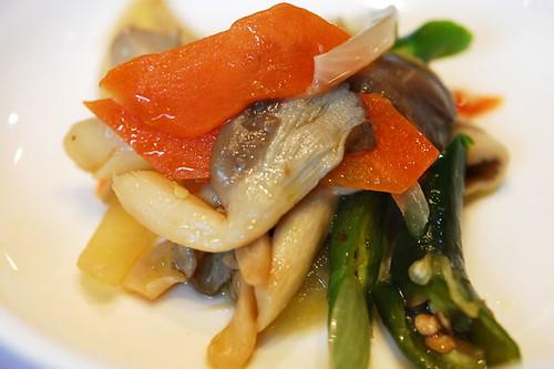 Mushroom salad - DSC_3679