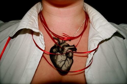 Ventricle Heart Necklace
