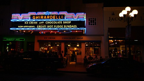 Ghirardelli Ice Cream and Chocolate Shop by San Diego Shooter