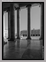 Napoli punto di fuga (Angelo Casteltrione (Aka alterdimaggio1957)) Tags: bw geotagged frames campania napoli architettura piazzaplebiscito bwartaward photosexplore explorewinnersoftheworld