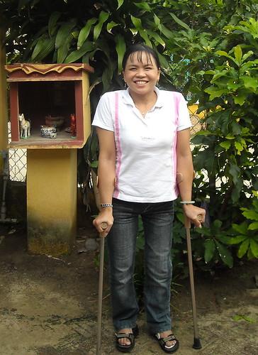 Trang Standing Tall