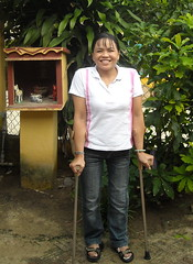 Trang Standing Tall (valockett) Tags: vietnam brace trang polio orthotics orthosis steadyfootsteps