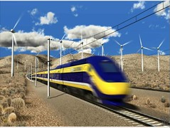 rendering of CA high speed rail (by: NC3D for CA High Speed Rail Authority)