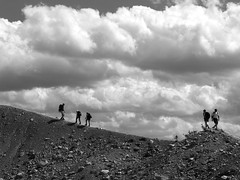 LL 158 (newnumenor) Tags: sky people canada mountains rockies
