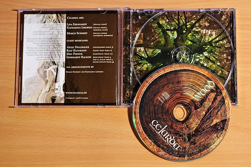 CD-Cover Celarda  - Innenansicht