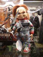 Chucky la Bambola Assassina (Sugnuiu) Tags: souvenir barcellona spagna chucky giocattoli bambolaassassina