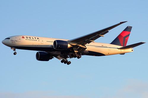 N701DN - Delta Boeing 777-200LR