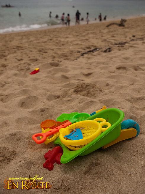 Colorful Beach Toys