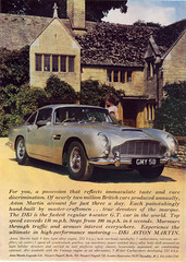Aston Martin DB5 (daviddb) Tags: colour vintage martin lifestyle advert murmur interest sixties aston 007 1963 db5 arouse