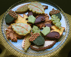 Thanksgiving Cookies (Whipped Bakeshop) Tags: whippedbakeshop zoelukas thanksgivingcookies thanksgiving fallcookies autumncookies acorns acorncookies chocolatesugarcookies decoratedcookies philadelphia squirrelcookies ayearofholidays philadelphiacakescookiesandcupcakes bestofphilly2010