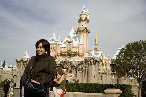 I'm at Disneyland!