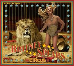 Capa Britney Spears Circus 6 (Sandra Spears) Tags: spears circus album capa lion cover britney leao