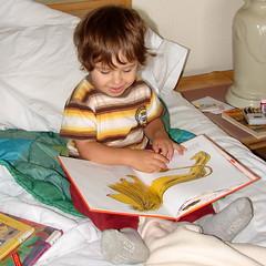 "Catcher Reading ""Happy Lion"" (Catcher & Co.) Tags: beach oregon reading book coast oregoncoast catcher manzanita manzanitaoregon happylion"