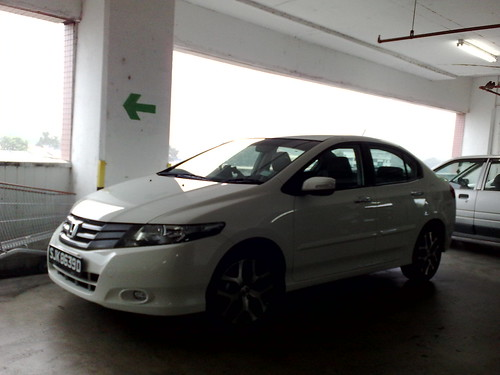 This is my first glimpse of the new Honda City 2009.