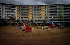 .... (koinis) Tags: house playground wall dark real apartments 1855 unaccepted brandkrr swedishplayground