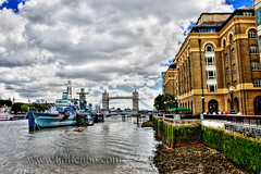 HMS Belfast Warship (Mr Yankee) Tags: city uk travel bridge houses england urban house building london monument thames towerbridge canon river pier boat town construction downtown riverside unitedkingdom harbour district united capital great kingdom hmsbelfast metropolis metropolitan hdr attraction dum bygninger famousbuilding hdrsingleraw 400d platinumheartaward hdrpro britain thebestofhdr