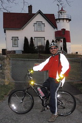 Biking by the Beack in Startford in Freezing Temps (12/6/2008)