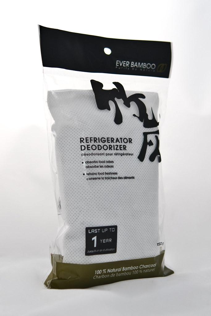 bamboo charcoal fridge + freezer deodorizer (150 g)
