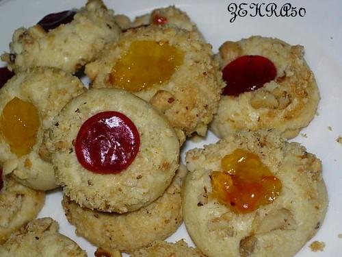 marmelatli kurabiyeler