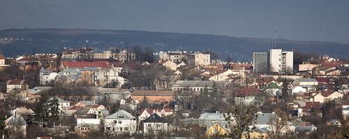 Chernivtsi panorama