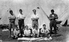 Bollington Discovery Centre Image Number 106-10 Bollington Scouts in Camp at Southport, 1919 (tom swailes) Tags: camping cheshire britain scouts 1919 southport scoutcamp bollington goodwin mayers sharpley tasker brogden harrytasker nedsharpley frankmayers arthurbrogden alfgoodwin bollingtondiscoverycentre discoverbollington